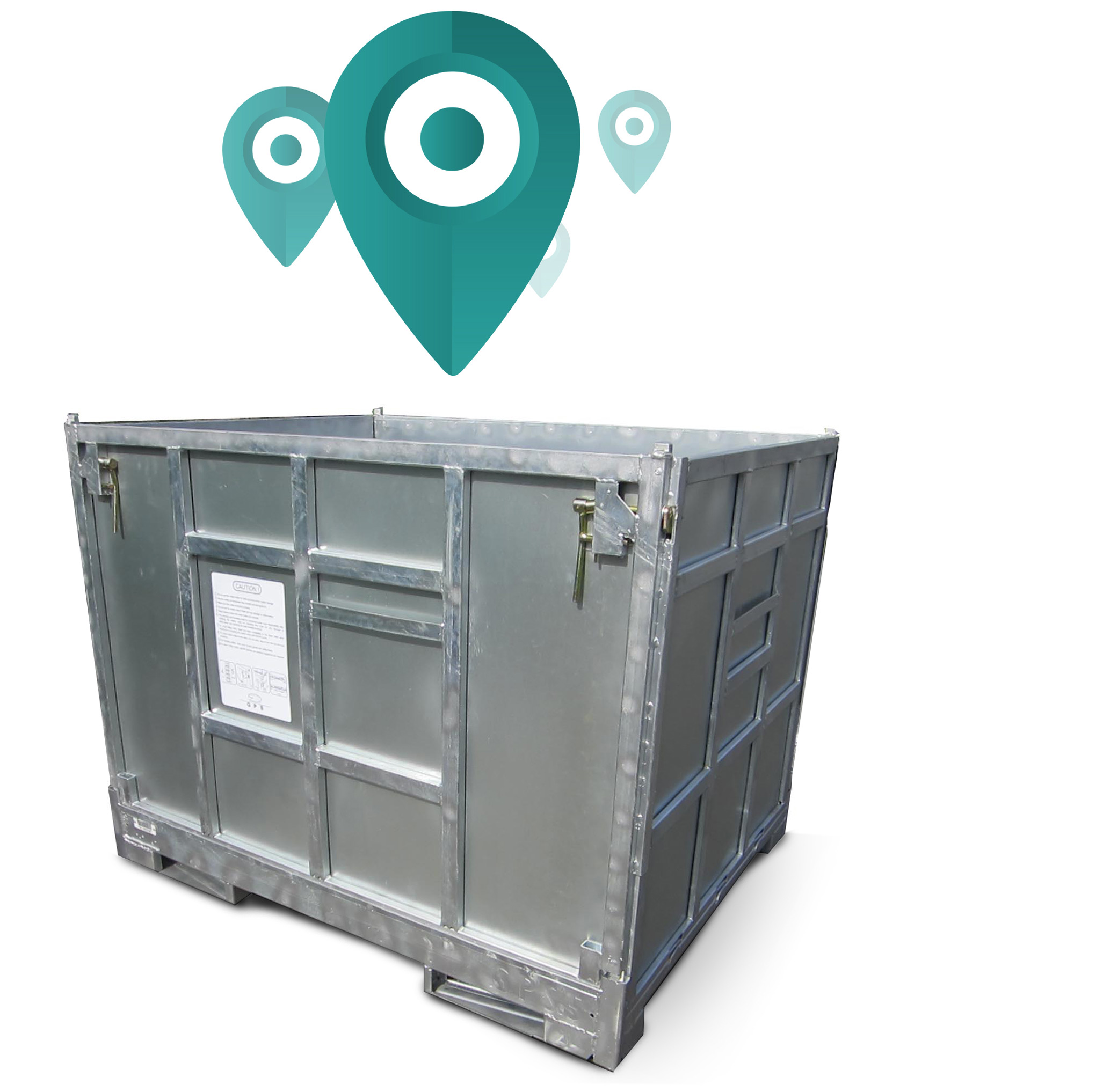 Metal Boxes rental - GPS